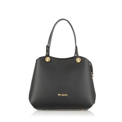 Дамска чанта PIERRE CARDIN - Ruga Classic черна - малка