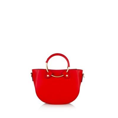 Дамска чанта PIERRE CARDIN - Ruga тъмна керемида
