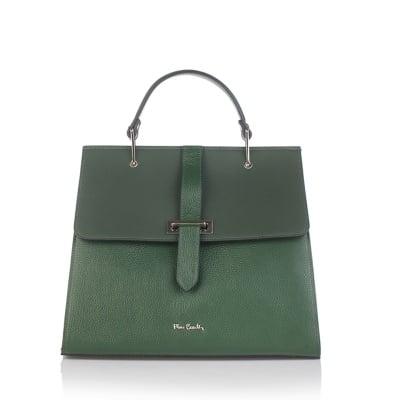 Дамска зелена чанта  PIERRE CARDIN Dollaro