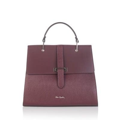 Дамска червена чанта  PIERRE CARDIN Dollaro