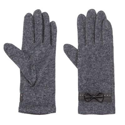 Сиви ръкавици PIERRE CARDIN