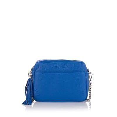 Дамска малка синя  чанта - Petit