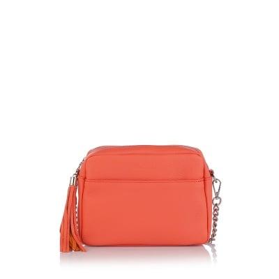 Дамска малка чанта Petit - цвят пъпеш