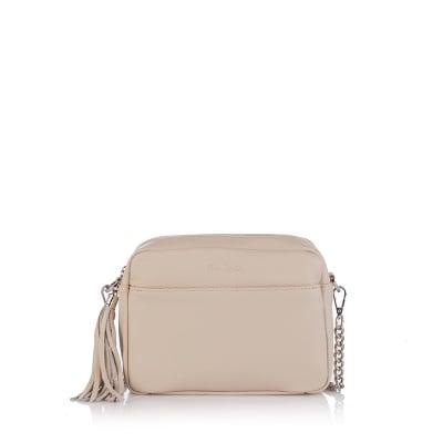 Дамска малка бяла чанта - Petit
