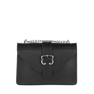 Дамска малка черна чанта колекция Lurex - Pierre Cardin