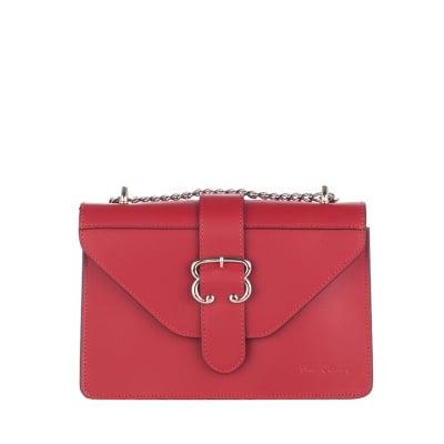 Дамска малка червена чанта колекция Lurex - Pierre Cardin