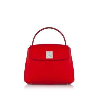 Дамска кокетна чанта в червено PIERRE CARDIN