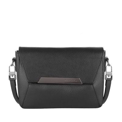 Малка кокетна черна чанта Dollaro - Pierre Cardin