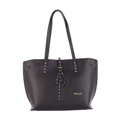 Дамска черна чанта малка Аutunno - Pierre Cardin