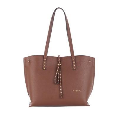 Дамска тъмнокафява чанта малка Аutunno - Pierre Cardin