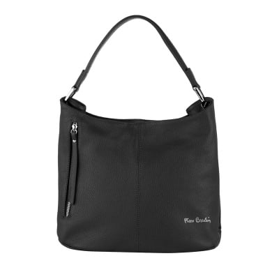Дамска черна чанта Pierre Cardin