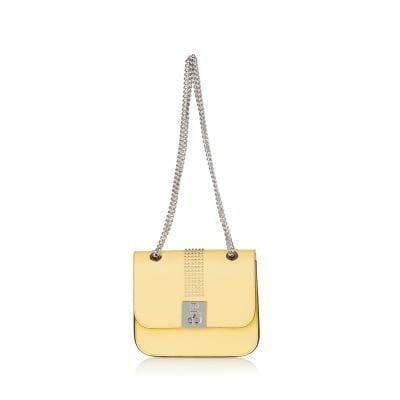 Дамска чанта жълта PIERRE CARDIN - малка