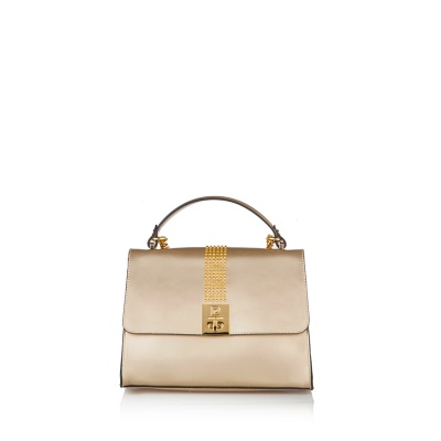 Дамска чанта PIERRE CARDIN златна - голяма