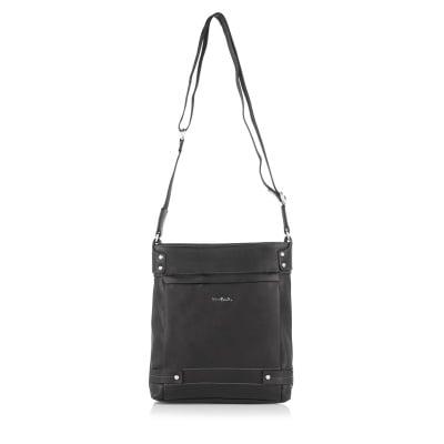 Черна мъжка чанта PIERRE CARDIN