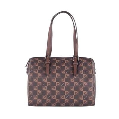 Дамска кафява чанта Pierre Cardin