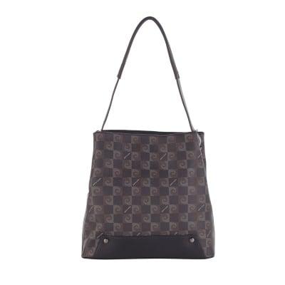 Дамска изискана чанта с щампа Pierre Cardin