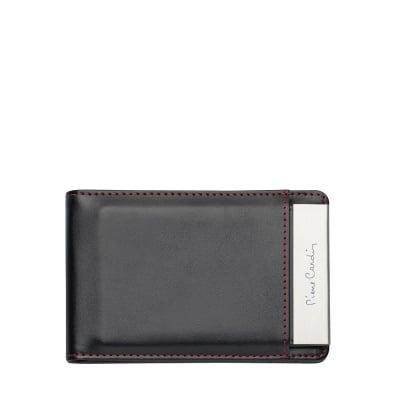 Калъф за документи и карти PIERRE CARDIN с метална щипка за пари