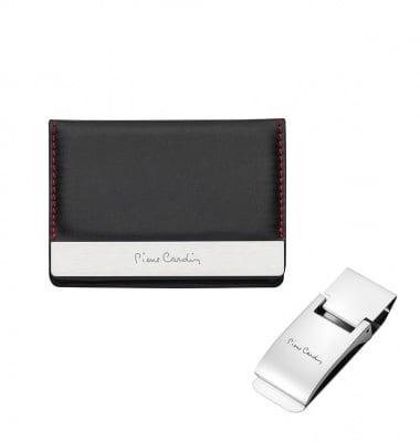 Подаръчен комплект PIERRE CARDIN - калъф за документи и щипка за пари