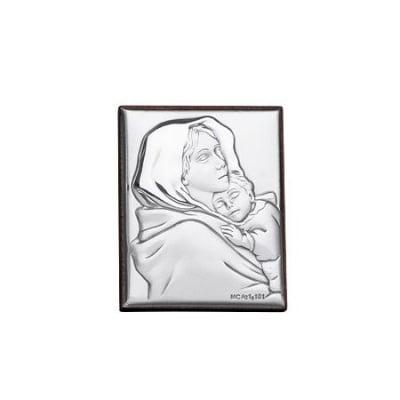 Икона сребро 4/5 cm.
