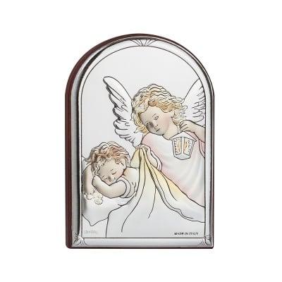 Икона ангели 6*8,5 см. цветна