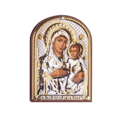 Икона Йерусалимска Богородица 4,5/6,5см.