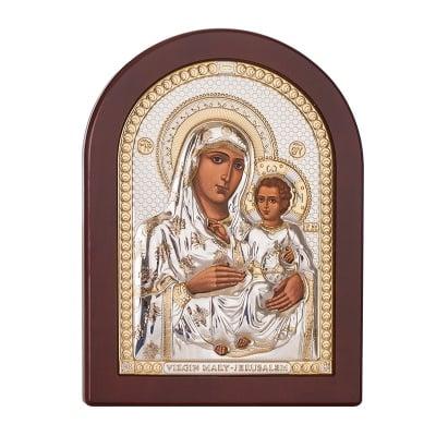 Икона Йерусалимска Богородица 15 / 20 см.