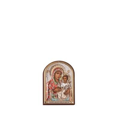 Икона Йерусалимска Богородица 4,5 / 6,5 см.