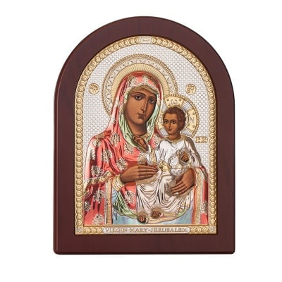 Икона Йерусалимска Богородица 17,5 / 22,5 см.