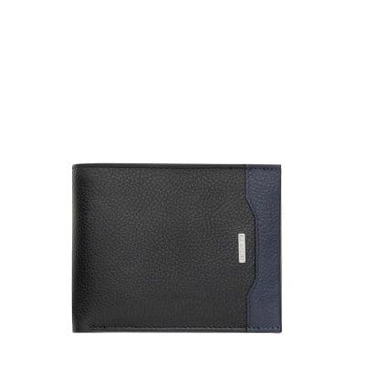 Мъжки портфейл - черно и сиво CERRUTI 1881