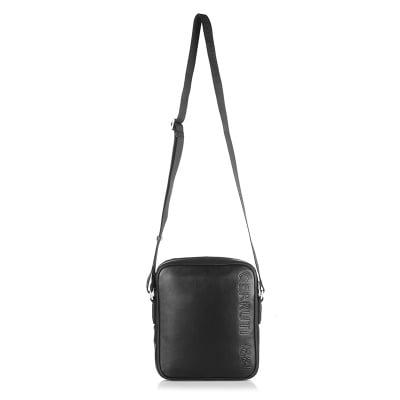 Черна мъжка чанта CERRUTI 1881