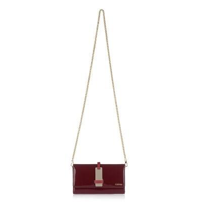 Малка дамска чанта - тъмно червена CERRUTI 1881