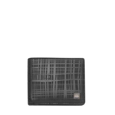Мъжки черен портфейл CERRUTI 1881