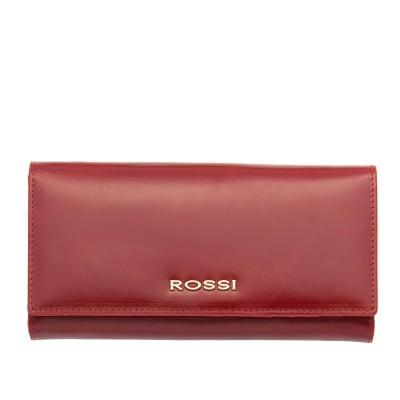 Дамско портмоне цвят Маслено Червено ROSSI