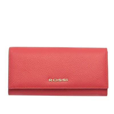 Дамско портмоне цвят розовo Шагрен ROSSI