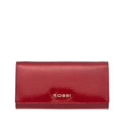 Дамско портмоне цвят Червено Гланц ROSSI