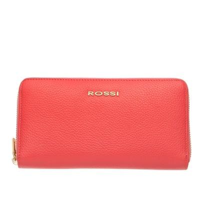 Дамско портмоне цвят розово Шагрен ROSSI