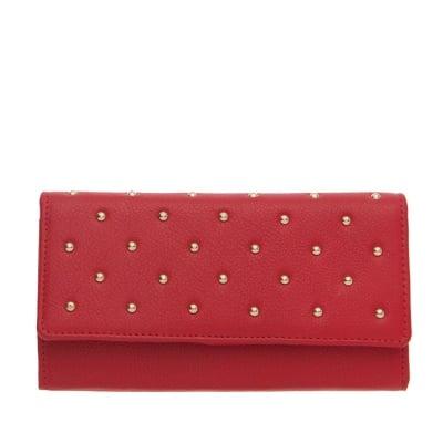 Дамско портмоне наситено червен ROSSI