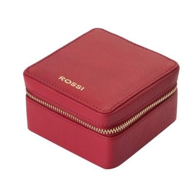 Кутия за бижута цвят Наситено червено - ROSSI