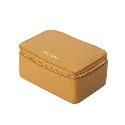Кутия за бижута цвят Жълто - ROSSI
