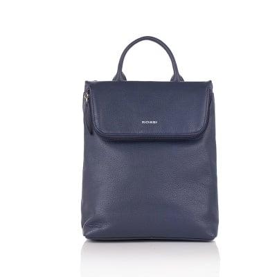 Дамска синя чанта - ROSSI