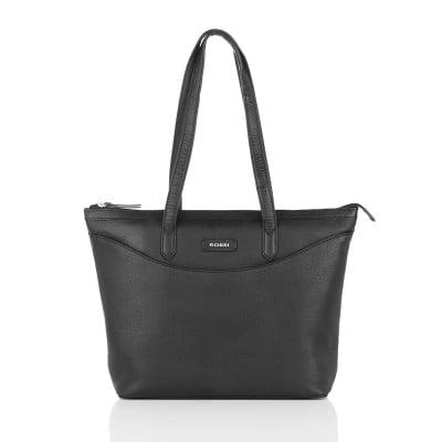 Дамска чанта черна - ROSSI