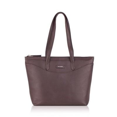 Дамска чанта шоколадово кафява - ROSSI
