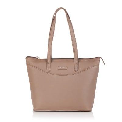 Дамска чанта  бежова - ROSSI