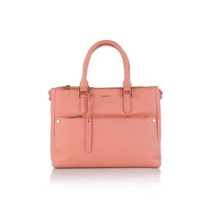 Дамска бизнес чанта в розово - ROSSI