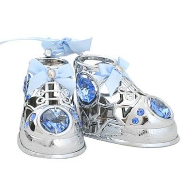 Бебешки обувчици сини