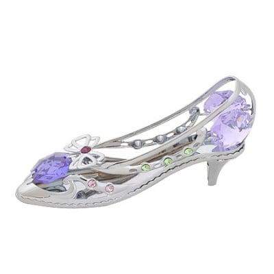 Дамска обувка с лилаво