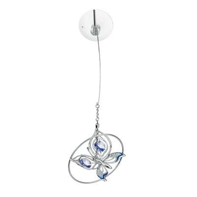 Пеперуда сребро със синьо