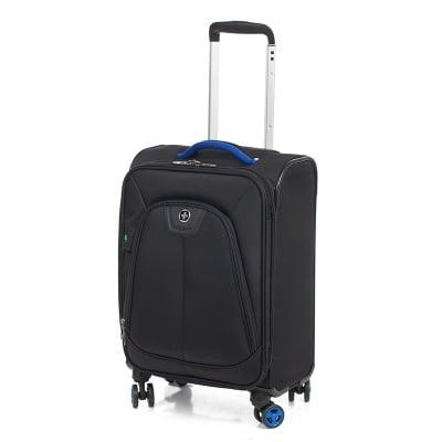 Черен куфар с колела - SWISS DIGITAL