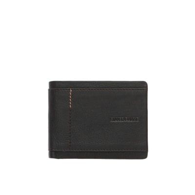 Мъжки портфейл в кафяво SILVER FLAME - колекция Франция