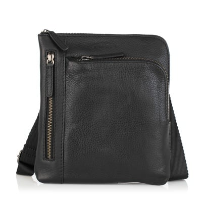 Мъжка черна чанта ANDY - SILVER FLAME
